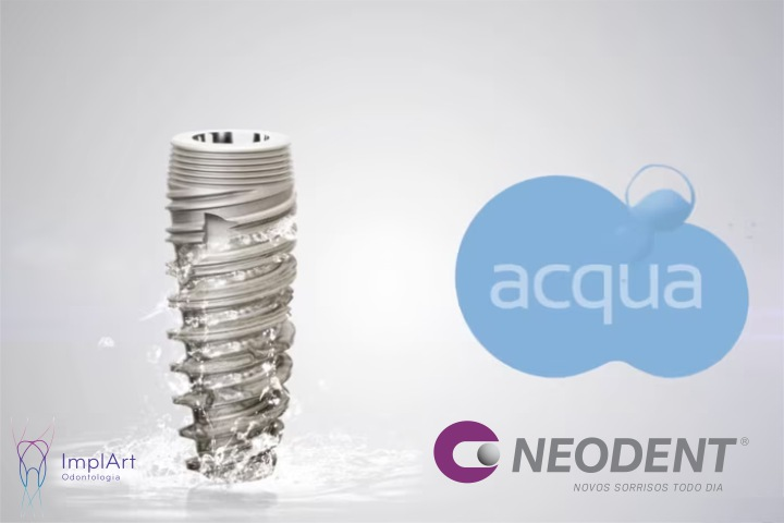 implantes acqua neodent implart