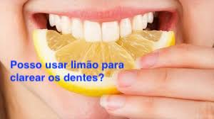 clareamento dental limao